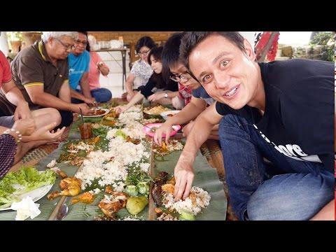 The Ultimate Indonesian Food Day Trip HUGE Nasi Liwet Feast