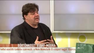 Buday Péter börtönbe vonult - 2014.11.24 - tv2.hu/mokka