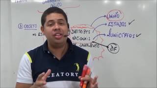 Aula EMBASA - Lei 11.445/2007 - Diretrizes Nacionais -Saneamento Básico -P. 01- Prof. Alan Vinícius