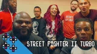 Sasha Banks returns & Mark Herny debuts for Street Fighter II — Gamer Gauntlet
