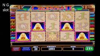 High Limit Cleopatra 2 Slot Machine Bonuses Win 💲💲💲💲 NICE GAME. c25 Denomination