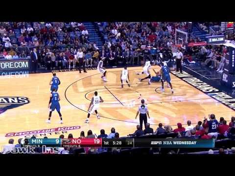 Anthony Davis Full Highlights 2016 11 23 vs Timberwolves   45 Pts, 10 Rebs, UNSTOPPABLE!