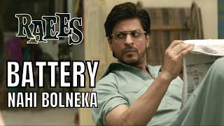 Battery Nahi Bolneka  Shah Rukh Khan  Raees uploaded on 07-04-2017 983 views