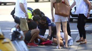Barcelona terror attack eyewitnesses describe chaotic scene