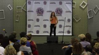 Nicole P. singing 'Legally Blonde' - Young Actors' Theatre Camp