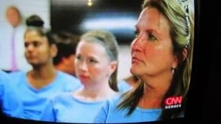 Kim Carter on CNN Kim Carter on CNN Heroes For The Time For Change Foundation!