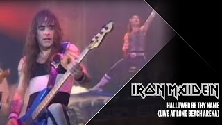 Iron Maiden - Hallowed Be Thy Name (Live at Long Beach Arena)