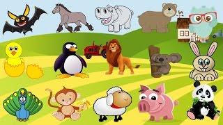 أسماء وأصوات الحيوانات للاطفال   تعليم أصوات الحيوانات