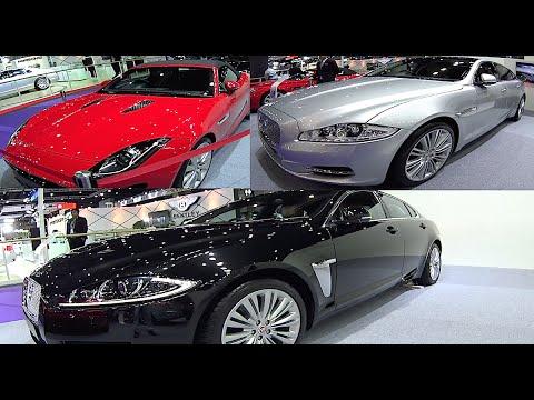 All new Jaguar 2016, 2017: F Pace, XF, XJ, XJ L, F coupe Video