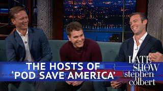 Pod Save America Hosts: They Should Be Afraid Of Omarosa