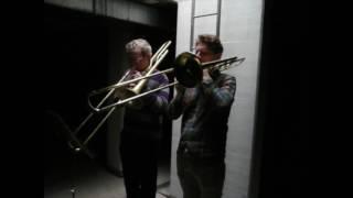 John Cage (arr. Kevin Austin) - In a Landscape for two trombones