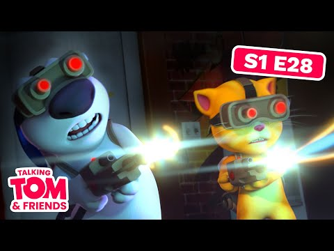 Talking Tom and Friends - Ghost Pirate Hunting (Episode 28)