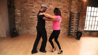 Learn to dance the SAMBA with Jesus Reyes Ortiz and Dee Thresher
