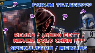 Star Wars Galaxy of Heroes - Mysteriöses Pixelbild? Forumteaser Spekulation - SWGOH Deutsch / German