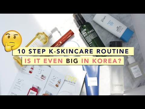 Is 10 Step Korean Skincare Routine Popular in Korea?