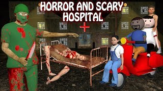 Horror Hospital - Doctor VS Patient (ANIMATED IN HINDI) Make Joke Horror