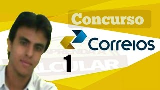 Concurso dos correios 2017 / 1ºAula - correios conjuntos numéricos