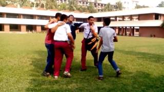 Epic celebration by us after getting GPA 5 in JSC