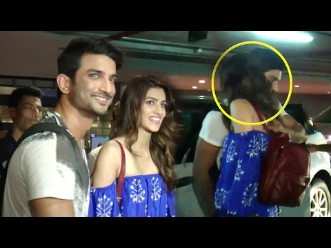 Xxx Mp4 Kriti Sanon KISSES BF Sushant Singh Rajput At Mumbai Airport 3gp Sex