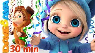 🍭 Baby Songs | Nursery Rhymes for Babies | Dave and Ava 🍭