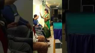Hot indian anty dance with money