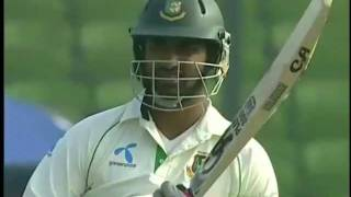 Tamim & The Helmet Wicket - BD vs Pak, 2011 Test 2 Day 4: