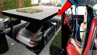 कार पार्क करने की 5 अनोखी तकनीकें !!  Top 5 car parking garage solution technology