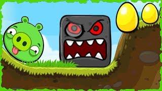 Bad Piggies In Red Ball 4 Green Hills Mobile Game Walkthrough