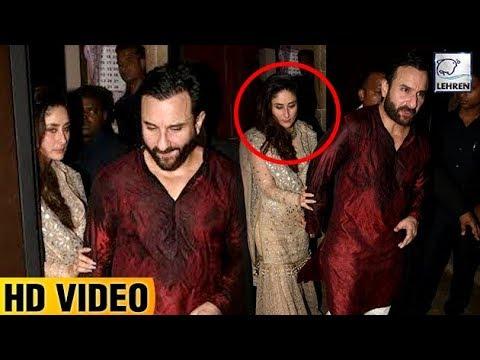 Xxx Mp4 DRUNK Kareena Kapoor Can T Walk Without Saif At Anil Kapoor's Diwali Bash LehrenTV 3gp Sex
