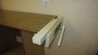 How To Add A Vise To Any Table - DIY Home Tutorial - Guidecentral