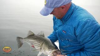 How To: Jigging for Stripers with Sand Eel Diamond Jigs