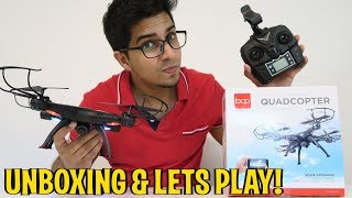 Unboxing & Let's Play - SKY3474 DRONE! - Quadcopter FPV RC Camera -  Best Choice Products!
