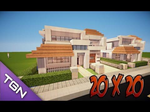 Como decorar una casa moderna en minecraft casa numero 6 for Casa moderna minecraft xbox 360