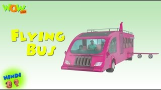 Flying Bus - Motu Patlu in Hindi