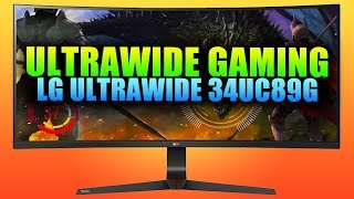 UltraWide Benefits In Gaming | LG UltraWide 34UC89G Unbox & Test
