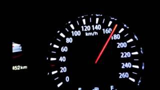 2015 Kia Optima acceleration 0-260km/h