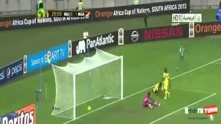LES MEILLEURS MOMENTS DU MATCH Mali vs Nigeria 1 4 All Goals 06 02 2013 CAN 2013