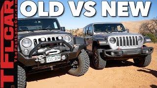 Old vs New: 2018 Jeep Wrangler JL vs Wrangler JK vs Moab