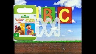Opening To Sesame Street Three Bears And A New Baby & Put Down The Duckie 2007 DVD Australia
