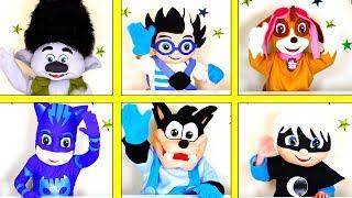 Nick Jr Paw Patrol Super Hero Game with Skye, PJ Masks Toys, Trolls Poppy | Ellie Sparkles