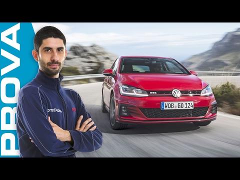 Nuova Volkswagen Golf GTI 2017 La prova del 2.0 TSI 245 CV