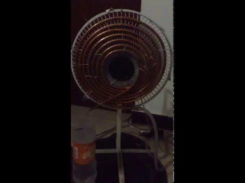 AC Cooling Fan Homemade Hindi & Urdu Guide