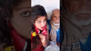 Hot Indian girl with old men funny