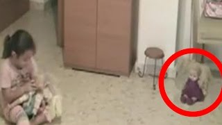 Possessed Doll Caught Moving On Video