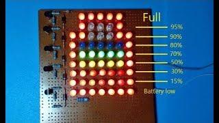 DIY a professional Battery level indicator