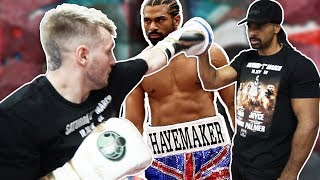 David Haye Is Training Me For My Boxing Fight (KSI v LOGAN PAUL UNDERCARD)