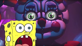 SpongeBob Watches the Five Nights at Freddy's - Sister Location Trailer