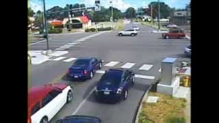 Signal Light Fatal Crashes Crossing Red Light