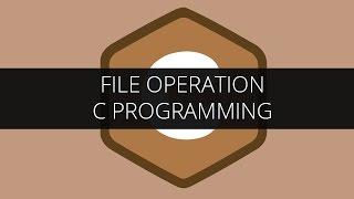 File Operation in C | C Programming Tutorial | Edureka