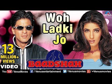 Xxx Mp4 Woh Ladki Jo Full Video Song Baadshah Shahrukh Khan Twinkle Khanna Abhijeet 3gp Sex